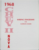 1968 Nova Factory Wiring Diagram Manual