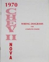 1970 Nova Factory Wiring Diagram Manual