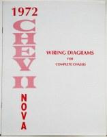 1972 Nova Factory Wiring Diagram Manual