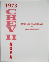 1973 Nova Factory Wiring Diagram Manual