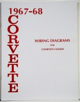 67-68 Corvette Factory Wiring Diagram Manual