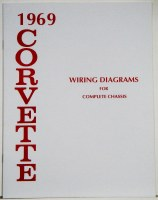 1969 Corvette Factory Wiring Diagram Manual
