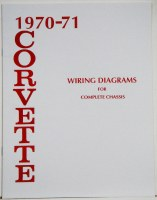 70 71 Corvette Factory Wiring Diagram Manual