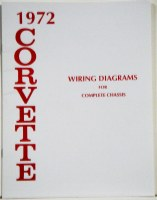 1972 Corvette Factory Wiring Diagram Manual