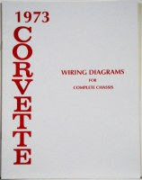 1973 Corvette Factory Wiring Diagram Manual