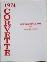 1974 Corvette Factory Wiring Diagram Manual