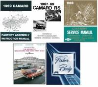 1968 Camaro Restoration Book Set Service Body Chassis Wiring Diagrams 1967 1968 1969 Camaro Parts Nos Rare Reproduction Camaro Parts For Your Restoration