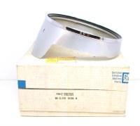 1969 Camaro NOS Standard Headlamp Bezel w/Trim LH GM Part# 3962901
