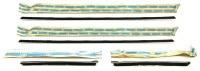 68 69 Camaro & Firebird NOS Coupe Outer Windowfelts (4) Pieces GM