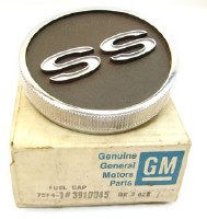 67 68 Camaro NOS Super Sport OR SS Fuel Or Gas Cap GM Part# 3910045