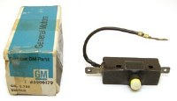 1967 Camaro NOS RS Headlight Door Limit Switch  GM# 3906172