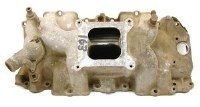 67 68 69 Camaro Chevelle Nova 396 427 BB Intake Manifold GM 3933163  8-29-68