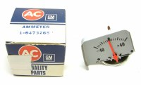 68 69 Camaro NOS Console Amp Gauge Original GM Part# 6473265