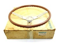 1969 Camaro Chevelle Nova  NOS Rosewood Steering Wheel GM w/Box GM Part# 3960722
