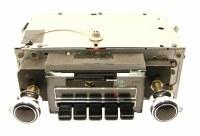 1969 Camaro Chevelle Nova AM/FM Stereo Blue Light Radio Restored & Refurbished