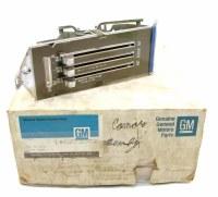 69 70 71 72 73 74 Camaro & Chevy Nova NOS Heater Control Head Assembly  With AC  GM# 6273372