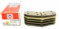 1967 1968 Camaro Firebird Chevelle Nova   NOS 4 Piston Front Disc Brake Pads GM# 5470879