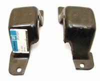 67 68 Camaro & Nova NOS BB Engine Frame Mounts GM Part# 3912597 & 3912598