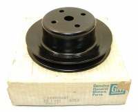 69-74 Camaro Chevelle Nova NOS 396 427 HP 350 HP Water Pump Pulley GM# 3995647