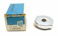 1967 Camaro Chevelle Nova Corvette NOS Oil Fill Tube Cap  Chrome With S Rivet  GM# 3882864
