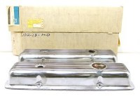 1969-74 Camaro & Corvette  NOS 302 Z/28 SS 350 Finned Valve Covers w/Drippers