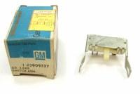 67 68 Chevy II Nova NOS Backup Light Switch Assembly  Original GM Part# 3909537
