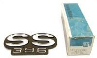 1967 Chevelle NOS SS 396 Tailight Panel Emblem GM Part# 4229992