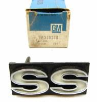 1976 El Camino NOS El Camaro SS Grille Emblem GM Part# 370378