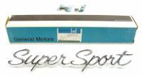 1966 Chevelle & Full Size  NOS Super Sport Front Fender Emblem GM Part# 3867735
