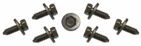 1968-1974 Camaro & Firebird Rear Leaf Spring Front Eye Bolt Set  GM# 3831892