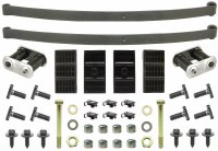 67 68 69 Camaro & Firebird Coupe Mono Leaf Springs & Install Kit OE  USA!