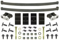 67 68 69 Camaro & Firebird Convertible Mono Leaf Springs & Install Kit OE  USA!