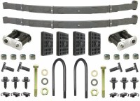 67 68 69 Camaro & Firebird 5 Leaf Rear Springs & Install Kit OE Correct USA!