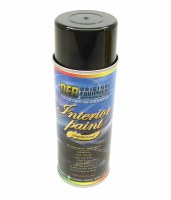 1967-1979 Camaro & Firebird Interior Paint 12 Oz Spray Can  Black