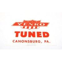 1969 Camaro Yenko Tuned Window Decal