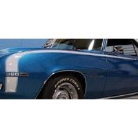 1969 Camaro Super Sport Hockey Stick Stencil & Stripe Kit w/White Door Decals