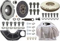 """1967 1968 Camaro 4-Speed Conversion Kit SB & Muncie 10.4"""" Clutch & Hurst Shifter"""
