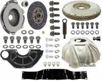 "1969 Camaro 4-Speed Conversion Kit BB & Muncie 10.4"" Clutch & GM Hurst Shifter"