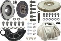 """1969 Camaro 4-Speed Conversion Kit SB & Muncie 11"""" Clutch & Hurst Shifter"""