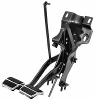 67 68 Camaro & Firebird Brake & Clutch Pedal Mount Assembly w/Manual
