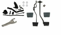 1968 1969 1970 Chevelle Clutch Linkage Kit With Clutch & Brake Pedals Complete
