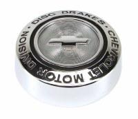 """1967 Camaro Rally Center Cap """"Chevrolet Motor Division Disc Brakes"""" GM# 3901715"""