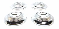 1967 Camaro Standard Steel Wheel Hub Cap Set Poverty Style GM# 3890679
