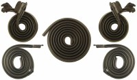 1967 Camaro & Firebird Mini Weatherstrip Kit 5 Piece Doors Roofrails & Trunk