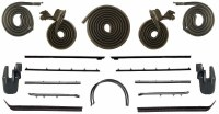 1967 Camaro & Firebird Coupe Weatherstrip Kit w/Std or Deluxe Interior