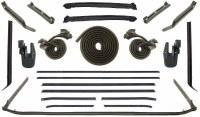68 Camaro  Convertible Weatherstrip Kit w/Dlx Interior & Belt Moldings