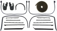 1967 Camaro & Firebird Coupe Latex Weatherstrip Kit w/Std & Deluxe Interior