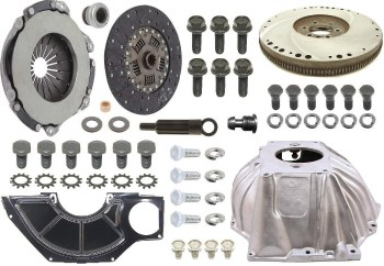 "1969 Camaro 4-Speed Conversion Kit SB & Muncie 10.4"" Clutch & GM Hurst Shifter"