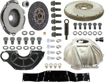 "1969 Camaro 4-Speed Conversion Kit BB & Muncie 11"" Clutch & Hurst Shifter"
