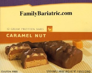 BAR Caramel Nut
